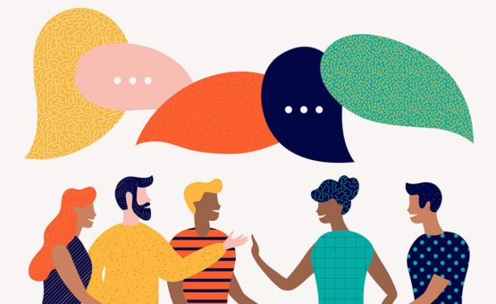 Talking the Talk.  The value of conversation